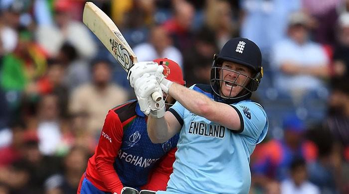 Eoin Morgan says he surprised himself with sixes record