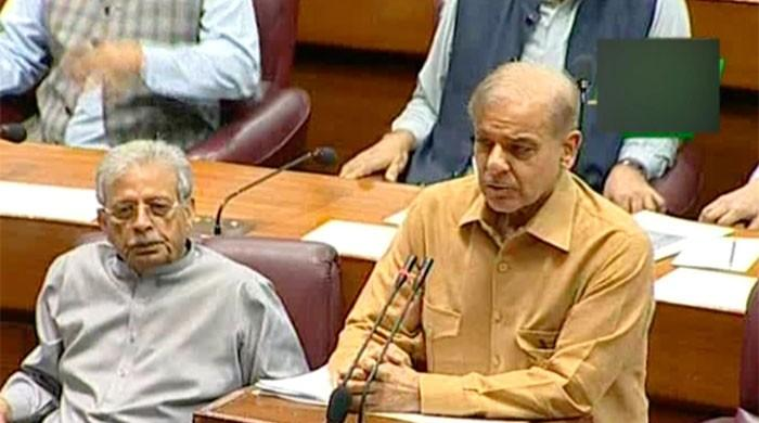 Mission Possible: Shehbaz Sharif gets to deliver uninterrupted speech in NA
