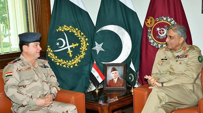 COAS, Iraq acting secretary defence discuss regional security