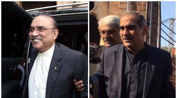 NA speaker issues production order for Zardari, Saad Rafique