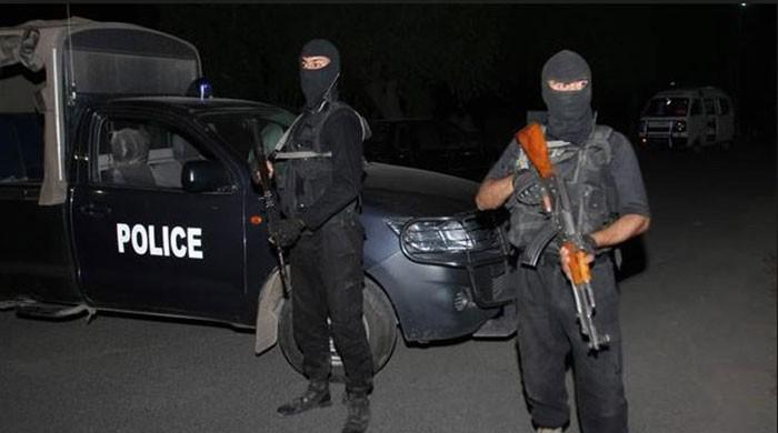 Two terrorists killed, three flee in CTD operation in Multan