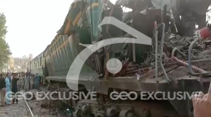 Three killed in train collision near Hyderabad