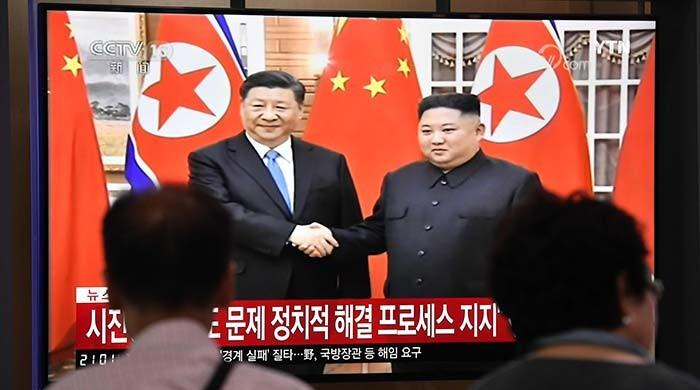 Xi Jinping visits North Korea's Kim ahead of Trump talks