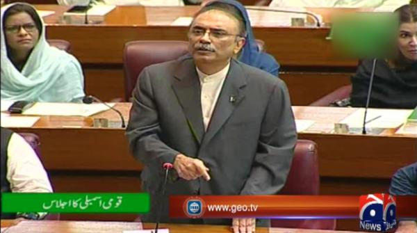 Zardari calls for end to arrests in order to move forward