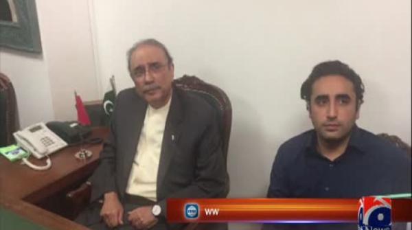 Zardari accuses government of 'blackmailing NAB chairman'