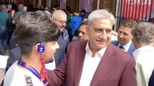 COAS Bajwa reaches Lord's to watch Pakistan vs South Africa