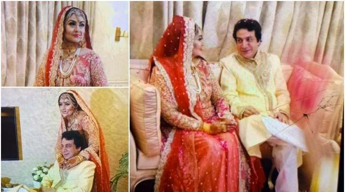 Former Punjabi film actress Anjuman ties the knot