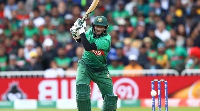 Bangladesh's Shakib goes top of World Cup run chart