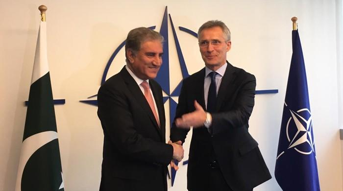 FM Qureshi briefed NATO boss on India-Pakistan tensions