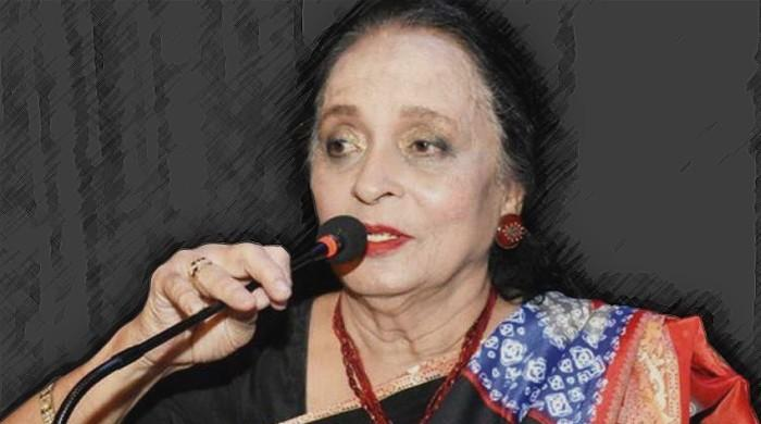 Actor Zaheen Tahira 'doing better, talking' now: family