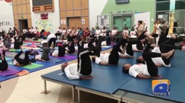Geo News Special – 5th International Yoga Day observed in Bradford