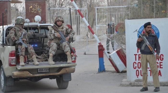 Three terrorists killed after attack on Police Lines in Loralai: ISPR