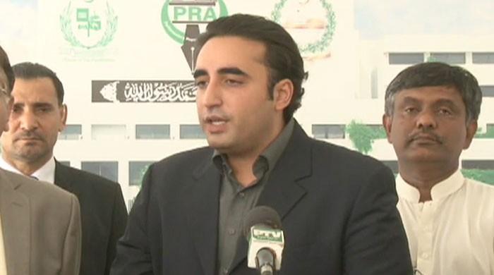Bilawal reiterates demand to issue production orders of Mohsin Dawar, Ali Wazir