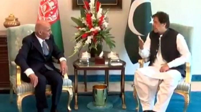 Afghan President Ghani meets PM Imran, discusses regional issues