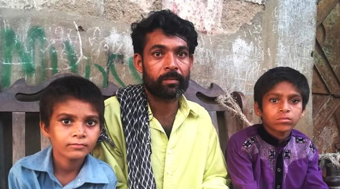 'My children's mother died. Who will take care of them now?'