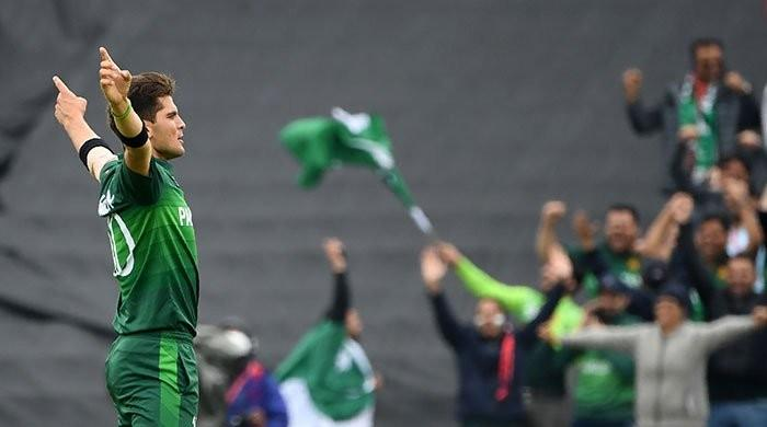 Pakistan´s Shaheen strikes to restrict Afghanistan in World Cup clash