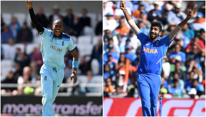 Image result for jofra archer vs jasprit bumrah