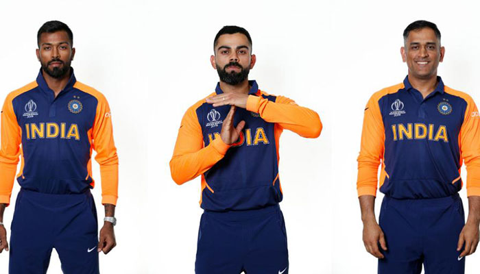 India to don orange 'away' jersey for England World Cup