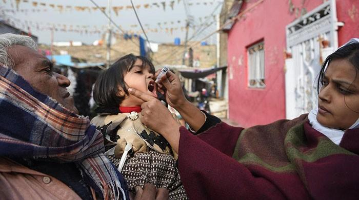 Five more polio cases surface in Khyber Pakthunkawa