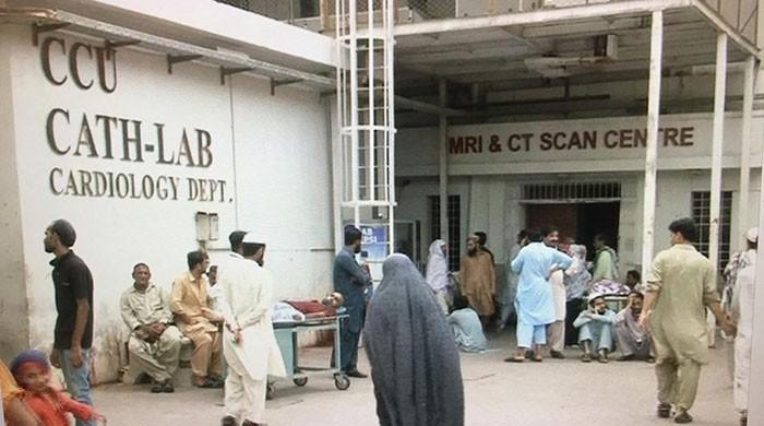 Sindh's largest public sector hospital fails to provide services
