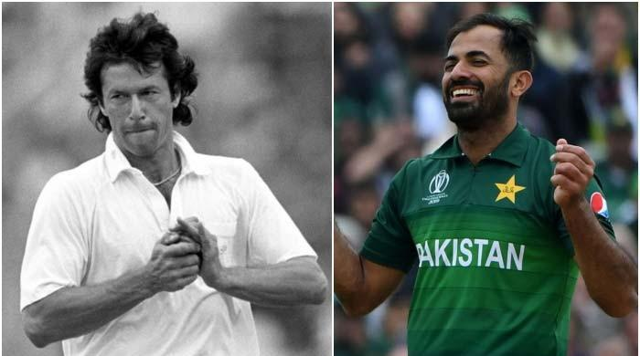 Wahab Riaz surpasses Imran Khan in World Cup wickets for Pakistan