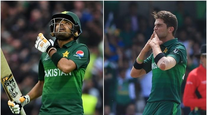 In Pakistan's heartbreaking exit, Babar Azam and Shaheen Afridi shine the brightest
