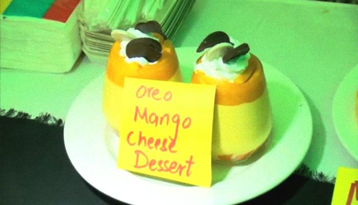 Oreo mango cheese dessert presented at the Mango Festival in Multan, Pakistan, July 8, 2019. Geo.tv/via Author