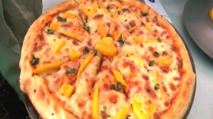 'Mango pizza' blows away folks at mango festival in Pakistan's mango capital Multan
