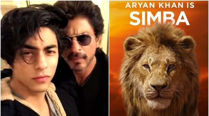 Shah Rukh Khan's Simba: Aryan Khan sounds just like dad in 'The Lion King'