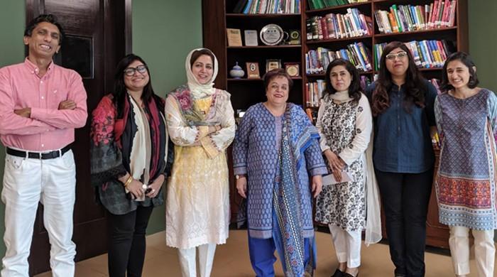 Women journalists' group meets Mazari to discuss 'action against online trolls'