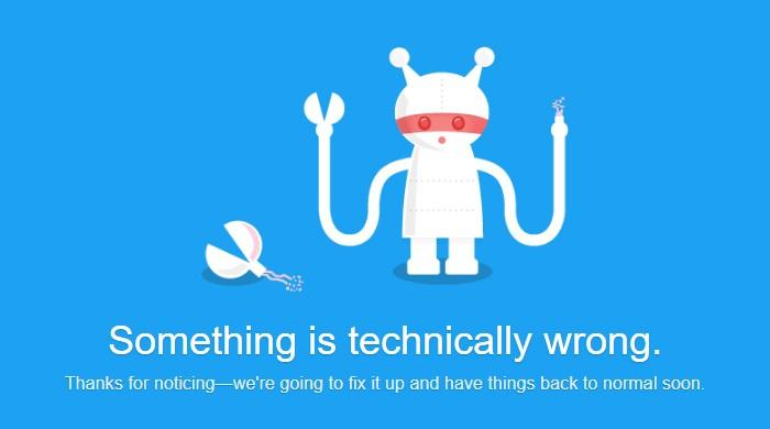Twitter back up after brief outage