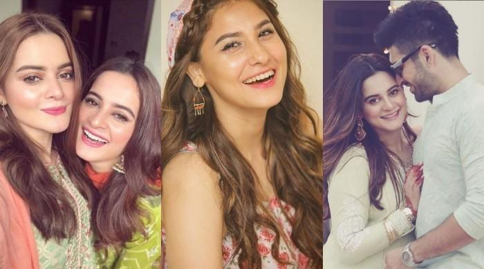 Aiman, Minal Khan lash out at Hina Altaf for calling Muneeb Butt a 'bad actor'