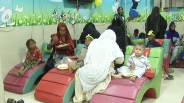 Thalassaemia patients enjoy mango party