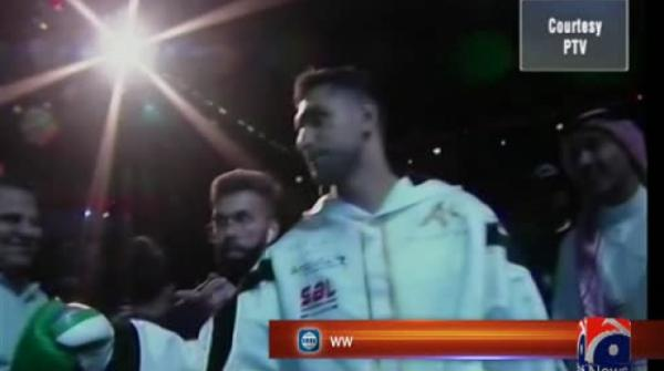 Boxer Amir Khan beats Australian Billy Dib to claim WBC international welterweight title