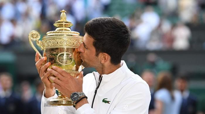 Djokovic saves match points to claim fifth Wimbledon title in the record-breaking final