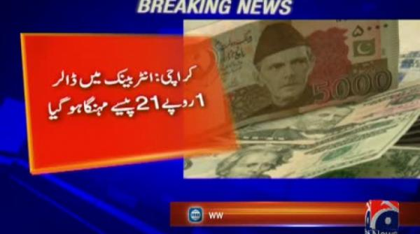 US dollar gains Rs1.11 in interbank market
