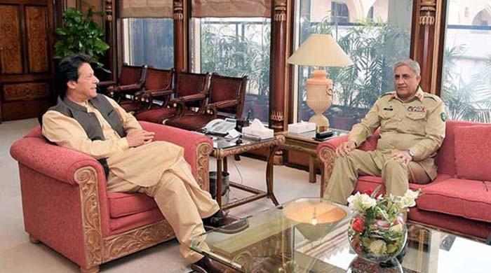 COAS Bajwa meets PM Imran Khan