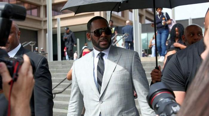 R. Kelly pleads not guilty, denied bail on charges of sex crimes