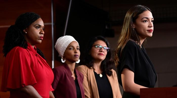 Trump intensifies attacks on Democratic congresswomen 'squad'