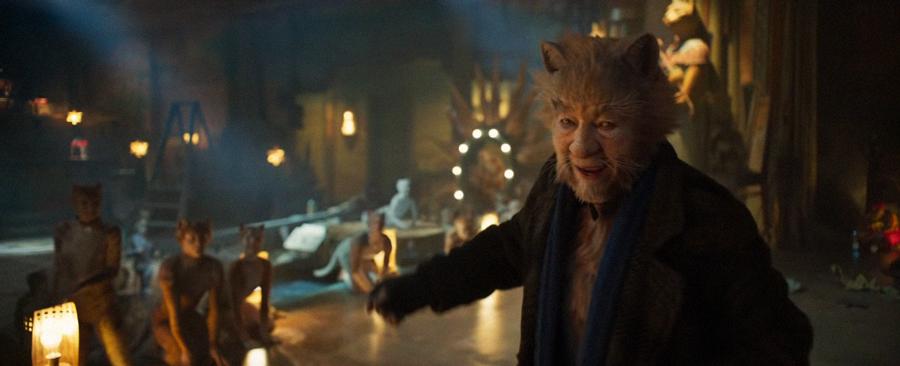 Ian McKellen. YouTube/CATS - Official Trailer [HD] by Universal Pictures/Screenshot via Geo.tv