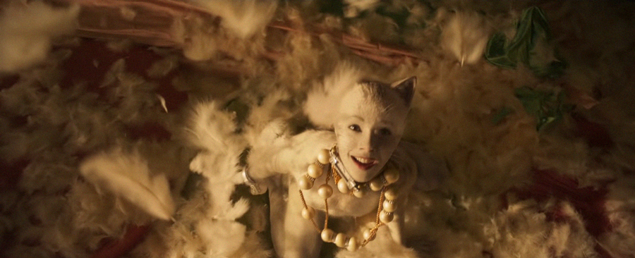 Francesca Hayward. YouTube/CATS - Official Trailer [HD] by Universal Pictures/Screenshot via Geo.tv