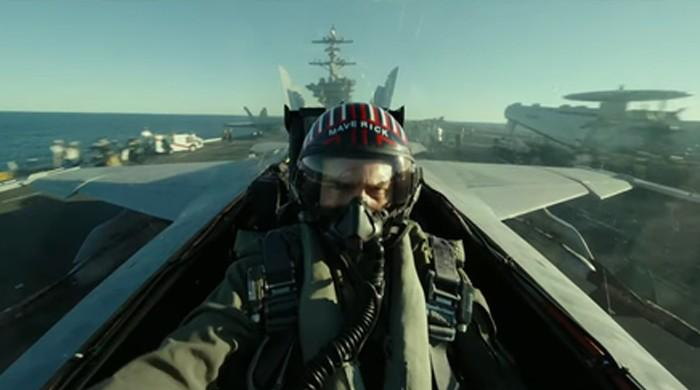 Tom Cruise delights fans with first look at 'Top Gun: Maverick'