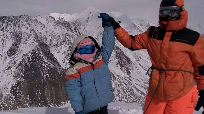 10-year-old Pakistani girl becomes youngest to scale 7,000-metre peak
