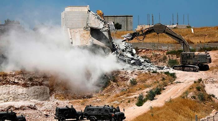 Israel demolishes Palestinian homes in Jerusalem area