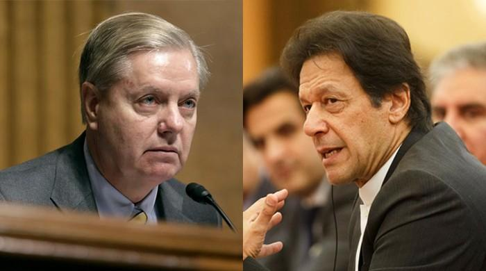 US Republican Senator Graham calls on PM Imran in Washington