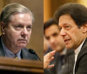 US Republican Senator Graham calls on PM Imran in Washington