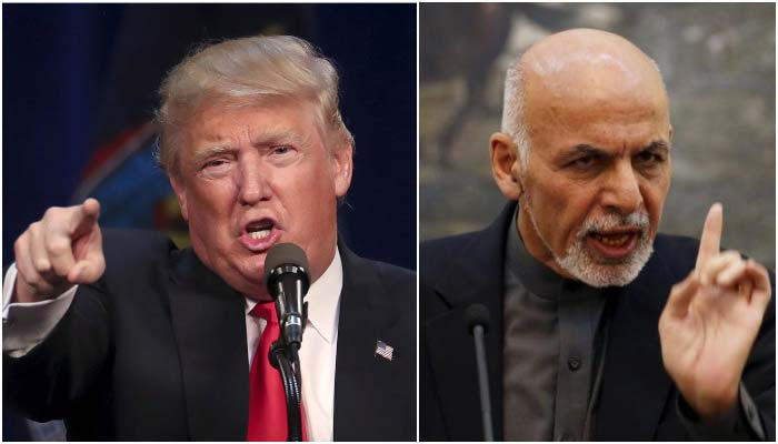 Afghan president Ghani seeks 'clarification' from US after