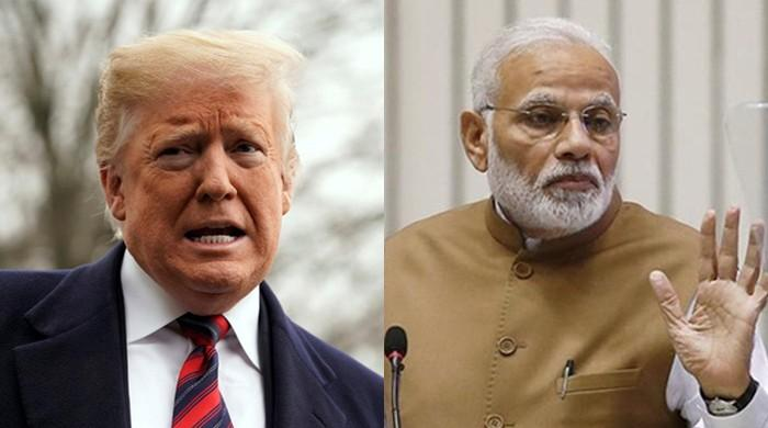 India says Modi made 'no such request' to Trump to mediate Kashmir issue
