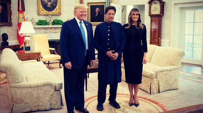 US First Lady Melania shares pictures with PM Imran, President Trump