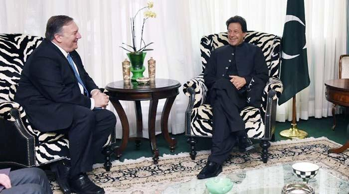 US Secretary of State Mike Pompeo calls on PM Imran